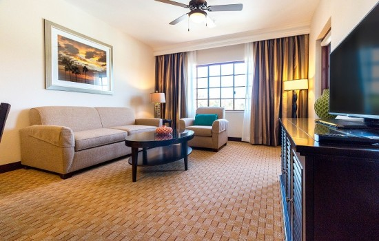 Welcome To MarBrisa Carlsbad Resort - 1 Bedroom Condo Living Room