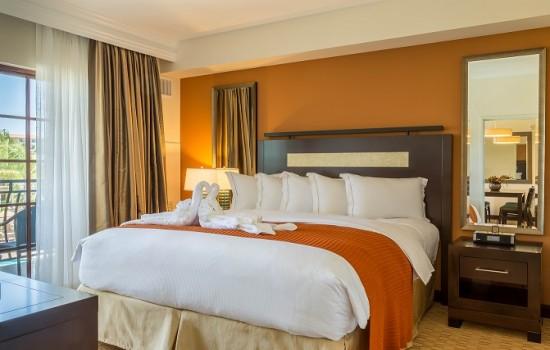 Welcome To MarBrisa Carlsbad Resort - One Bedroom Condo Master Bedroom