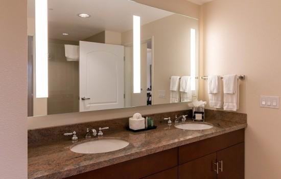 Welcome To MarBrisa Carlsbad Resort - 1 Bedroom Condo Vanity Area