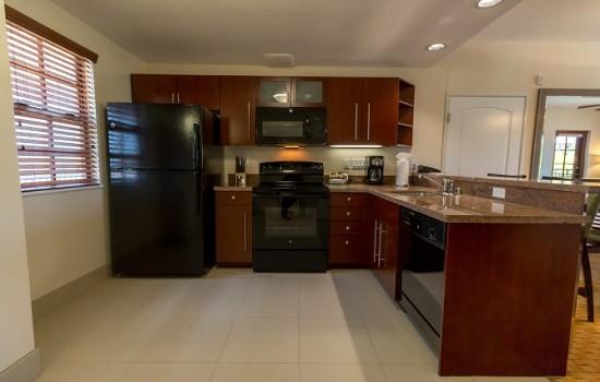 Welcome To MarBrisa Carlsbad Resort - 1 Bedroom Condo - Kitchen