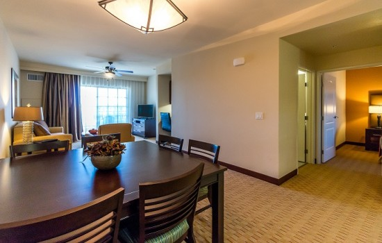 2 Bedroom Suite Dining Area