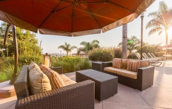 Welcome To MarBrisa Carlsbad Resort - Poolside Seating