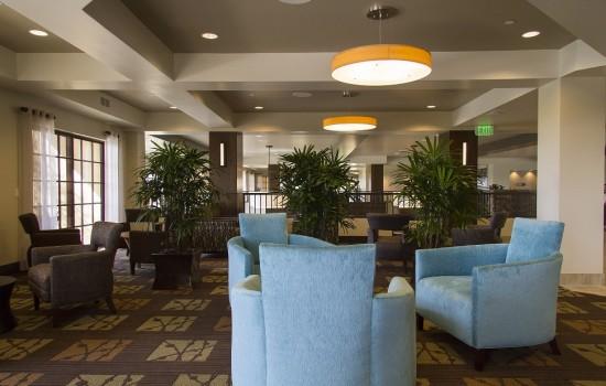 Welcome To MarBrisa Carlsbad Resort - Lobby Seating